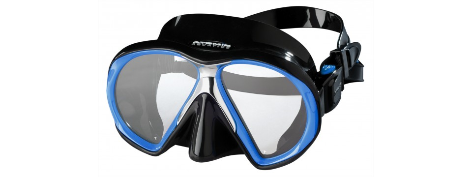 Atomic Aquatics SubFrame RoyalBlue/Black Taucherbrille in deiner Sehstärke