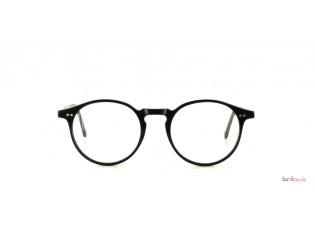 Mod.70 Col.4 - schwarze Pantobrille Frontansicht