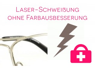 Laserschweißung ohne Farbausbesserung
