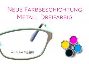 Lackierung dreifarbig - Metall/Titan