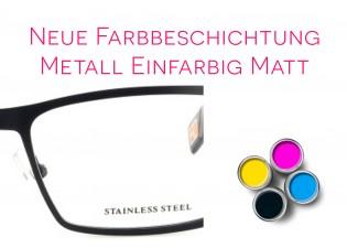 Lackierung einfarbig matt - Metall/Titan