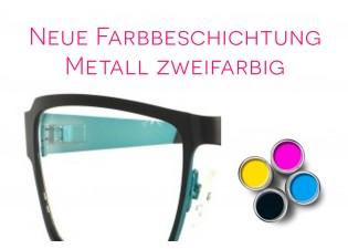 Lackierung zweifarbig - Metall/Titan