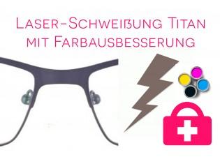 Laserschweißung - Titanbrille