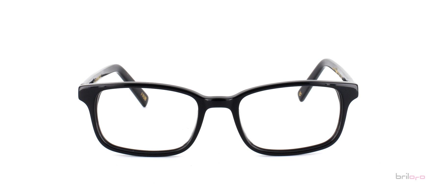 Benjamin Jet Black Brille für runde Gesichter exklusiv bei Briloro kaufen!