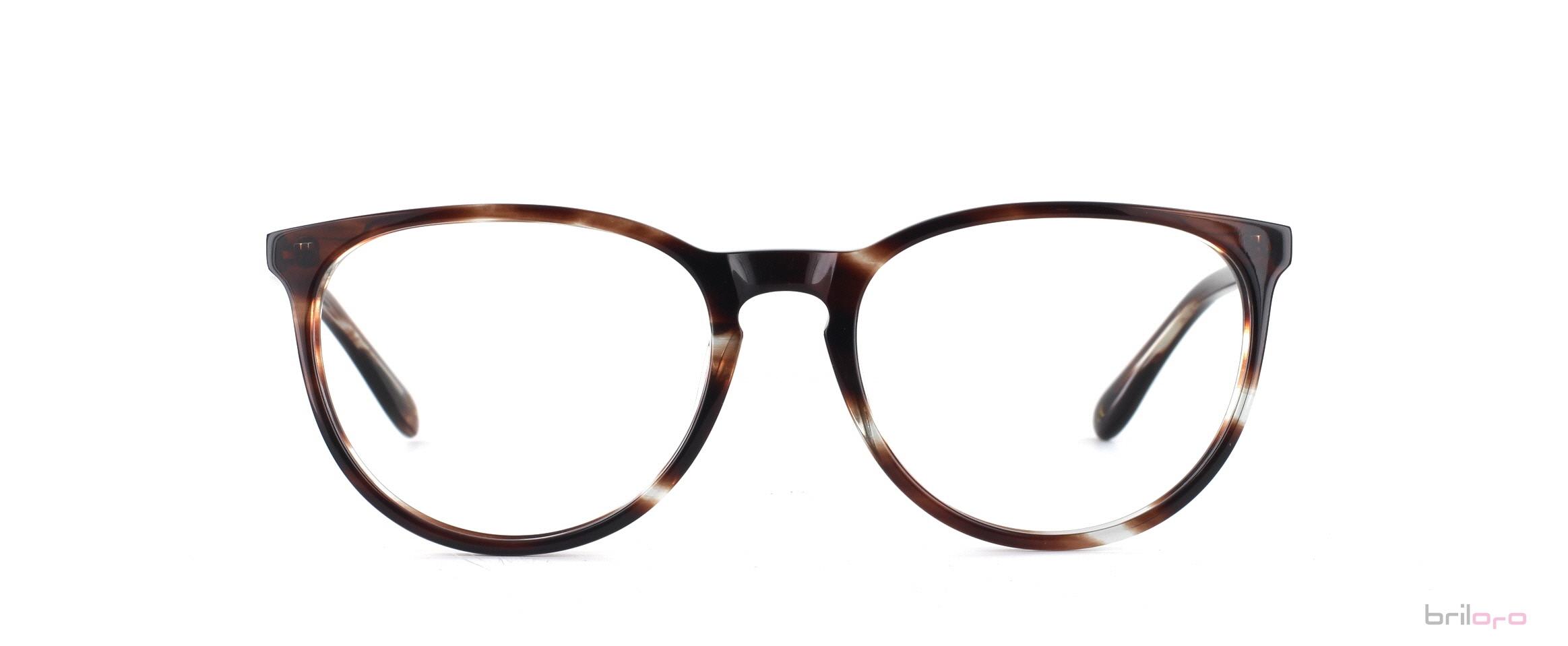 Maximo Striped Hickory Brille für Herbsttypen