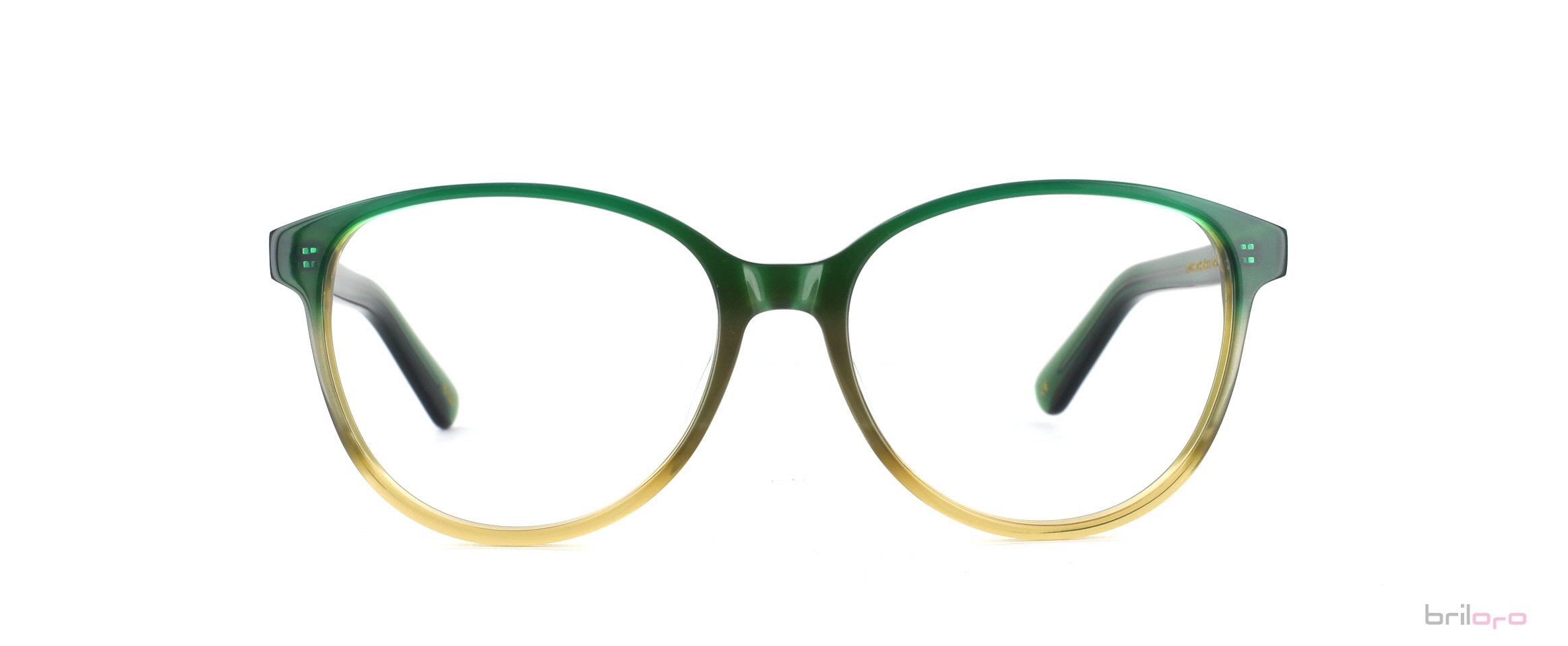 Nazario Dream Green Brille für Herbsttypen