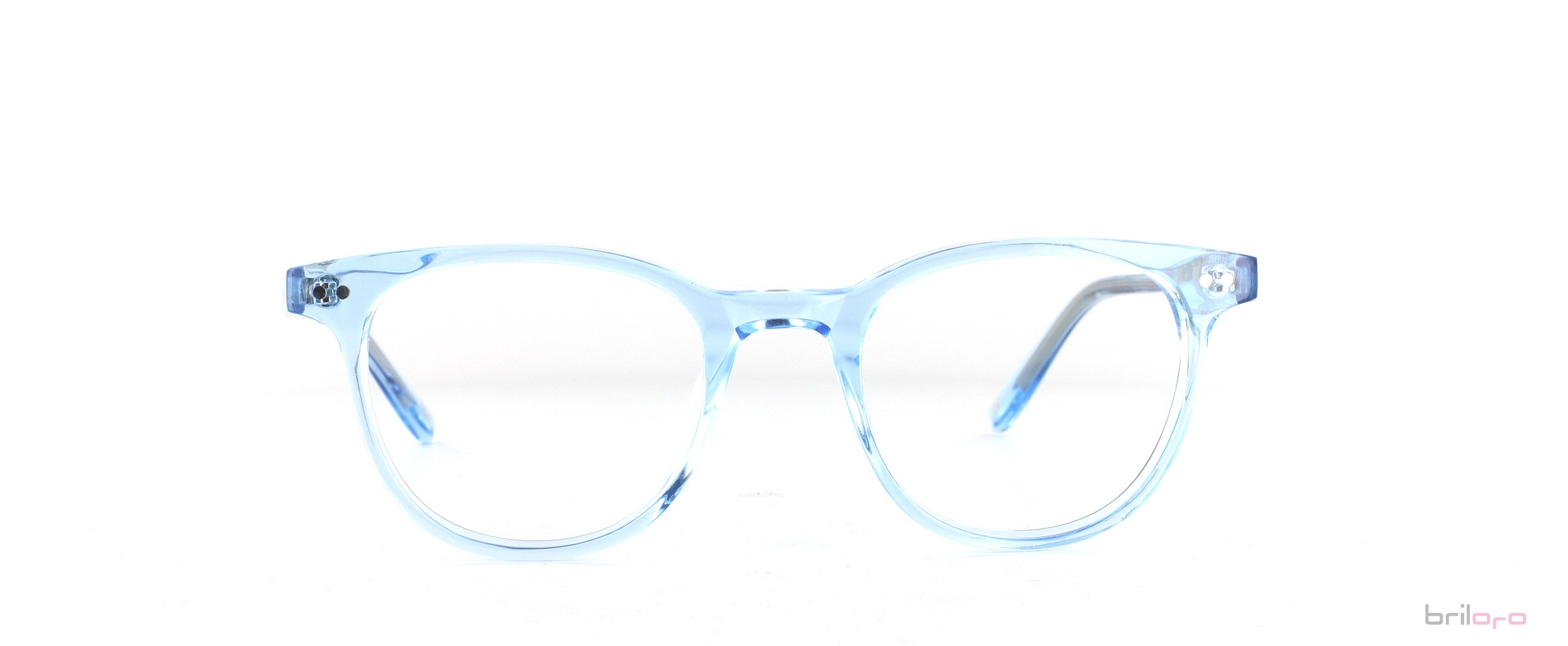 Farbige Ottavio Matt Light Blue für Sommertyp Menschen