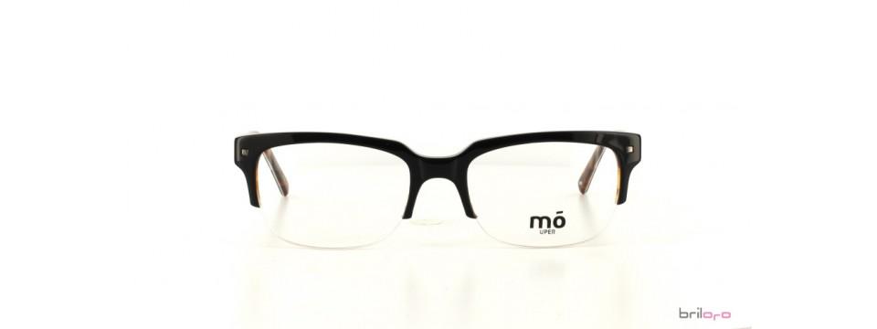 Moderne UPER black/havana halbrandbrille von MO Eyewear